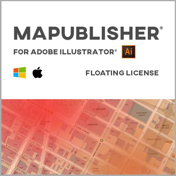 MAPublisher pour Adobe Illustrator Mac ou Windows - licence réseau